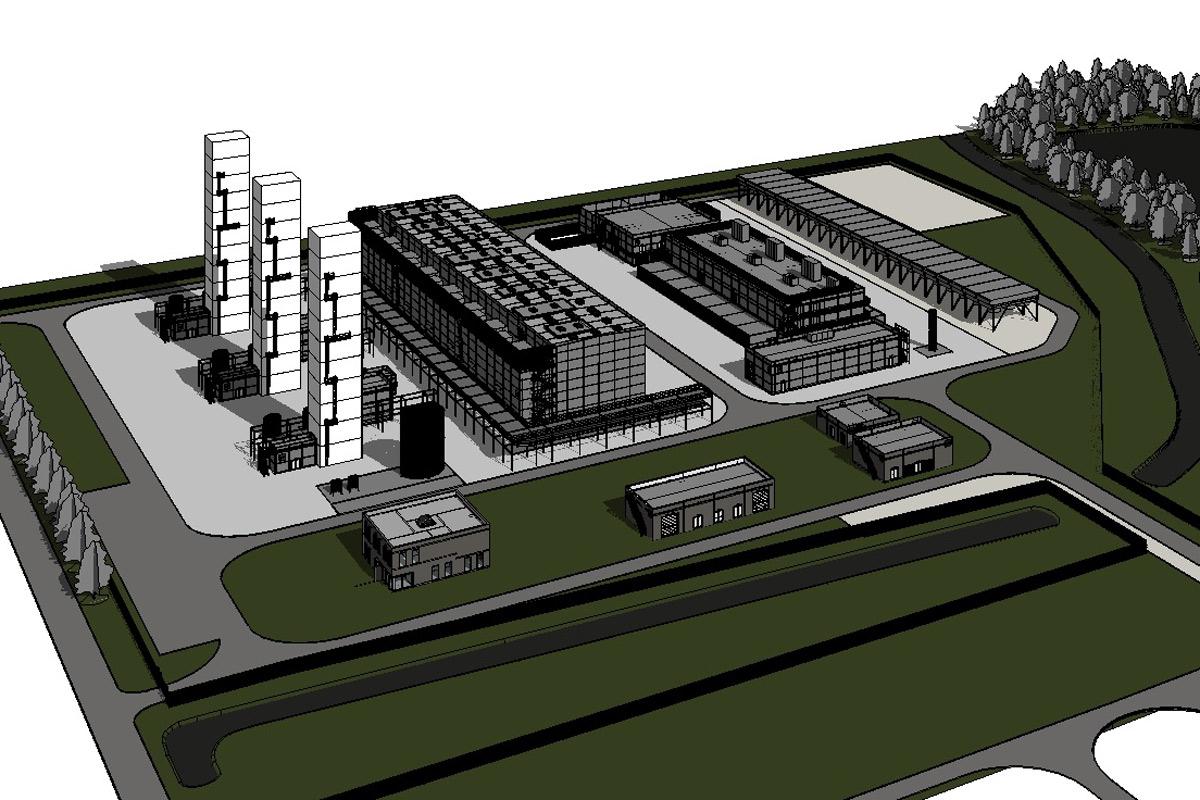 Stikstoffabriek Zuidbroek